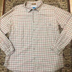 ⭐️LIKE NEW⭐️AWESOME Men's Columbia Plaid Shirt